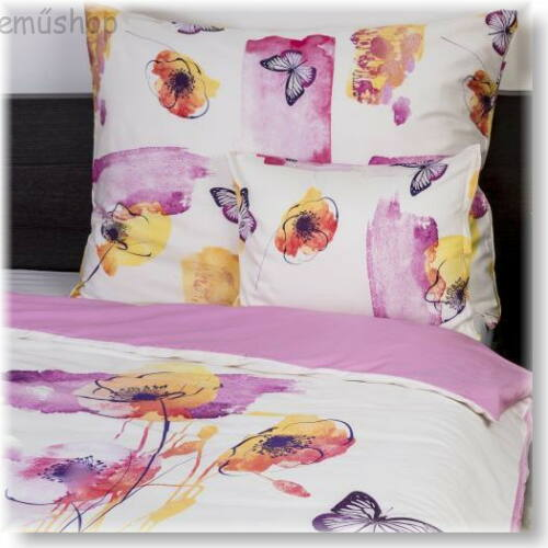 Image of Akvarell pamutszatén ágyneműhuzat