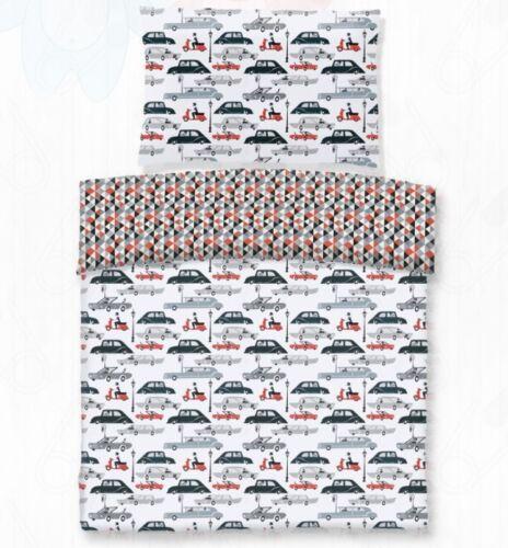 Image of Autós pamut gyerek ágyneműhuzat
