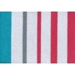 Csíkos mintás luxus pamut ágyneműhuzat