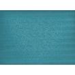 Türkiz kék csíkos pamutszatén ágyneműhuzat