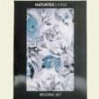 blue rose pamutszatén ágyneműhuzat
