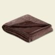 csokibarna kétoldalas ágytakaró