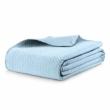 világoskék ágytakaró