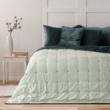 Daisy exclusive petrol kék dupla ágytakaró 200x220cm