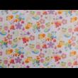 Virágos katicás ovis ágynemű minta