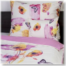 Akvarell pamutszatén ágyneműhuzat