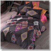 Marrakesh pink kétszemélyes pamutszatén ágyneműhuzat