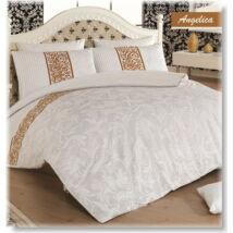 Ottoman classic fehér 3 részes pamutszatén ágyneműhuzat