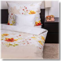 Virágos kert pamut ágyneműhuzat