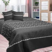 Romantikus mintás egyszemélyes ágytakaró (170*210 cm)
