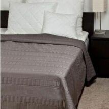 Grafit szürke modern ágytakaró 235*250 cm