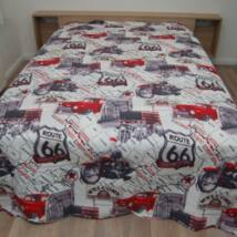 Motoros ágytakaró (260x240 cm)