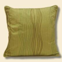 Kiwi Zöld hímzett díszpárna