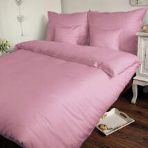 Rózsaszín pamutszatén kispárnahuzat