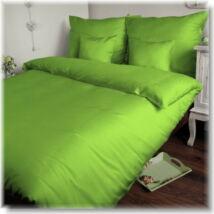Lime zöld pamutszatén kispárnahuzat
