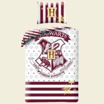 Harry Potter bordó-fehér pamut ágyneműhuzat