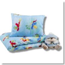 Papagájos kék ovis ágynemű ganitúra