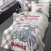 Motoros pamut ágyneműhuzat