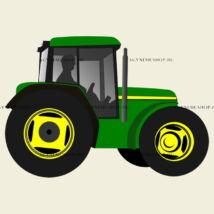 Traktor ovis jel