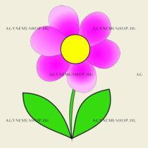 Virág vasalható ovis jel csomag (10db)