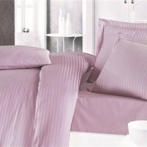 Fáradt rózsaszín  pamutszatén 220x240 cm lepedő