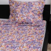 Apró virágos pamutszatén ágyneműhuzat