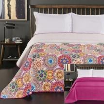 Mandala steppelt egyszemélyes  ágytakaró 170x210