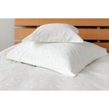 Fehér jacquard mintás damaszt  ágynemű