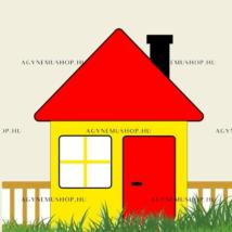 Ház vasalható ovis jel csomag (10db)