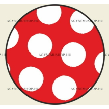 Pöttyös labda vasalható ovis jel csomag (10db)