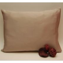 Homokszínű mako-szatén ágynemű