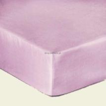 Orgona lila  pamutszatén gumis lepedő 160x200
