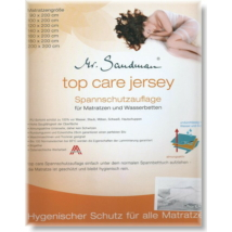 Top  Care jersey vízhatlan pamut matracvédő körgumis (160x200 cm)