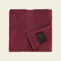 Burgundi luxus pamut törölköző 30x50 cm 2db