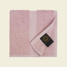 Matt rózsaszín luxus pamut törölköző 30x30 cm