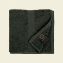 Olajzöld luxus pamut törölköző 30x50 cm 2db