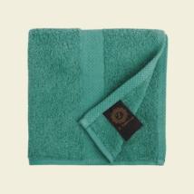 Smaragd luxus pamut törölköző 30x30 cm
