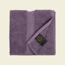 Sötétlila luxus pamut törölköző 30x30 cm