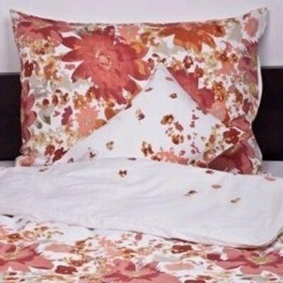 Őszi álom pamutszatén dupla ágyneműhuzat