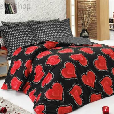 Love story luxus pamut ágyneműhuzat