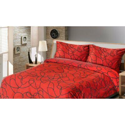 vörös-fekete dupla paplanhuzat