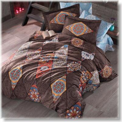 Marrakesh orange  pamutszatén ágyneműhuzat