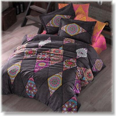 Marrakesh pink pamutszatén ágyneműhuzat