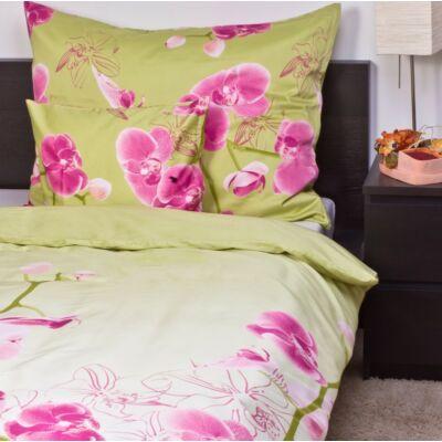 Orchidea pamutszatén ágyneműhuzat