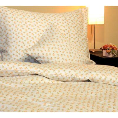 Romantikus rózsás pamutszatén ágyneműhuzat, 140*200 cm