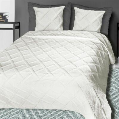 Dóra steppelt ekrüpamut ágytakaró (220x240 cm) - Ajándék 20 000 Ft-tól a08ec78d13