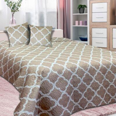 Marokkó mintás ágytakaró franciaágyra