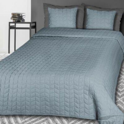 Piri szürkés kék steppelt ágytakaró