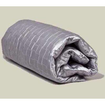 Modern ezüst ágytakaró