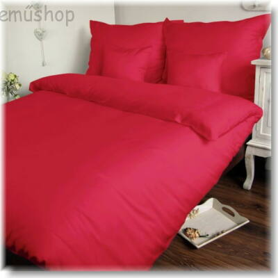 Pink pamutszatén paplanhuzat